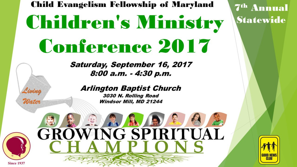 2017 CEF Children's Ministry Conference @ Arlington Baptist Church | Milford Mill | Maryland | United States